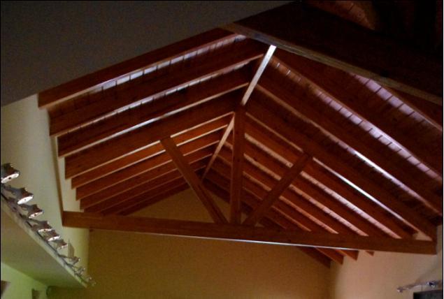 Casa naturaleza vivir arquitectura - Techos de madera interiores ...