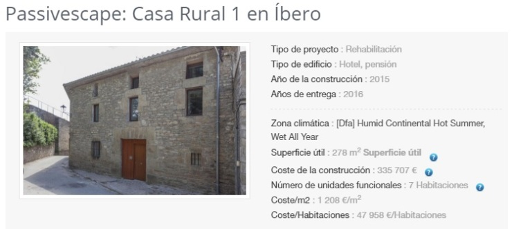 6 - Casa rural. Íbero, Navarra
