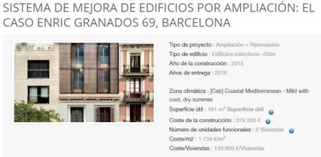 7 - Mejora de edificios. Barcelona